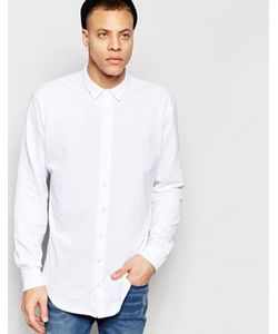 ADPT | Рубашка Классического Кроя Из Ткани Пике