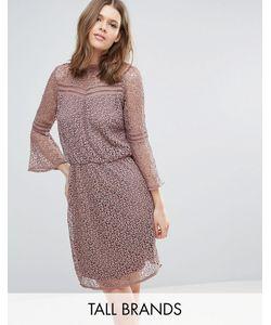 Y.A.S Tall   Кружевное Платье С Расклешенными Рукавами Stia
