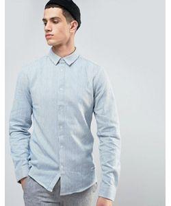 Solid | Рубашка Классического Кроя В Полоску