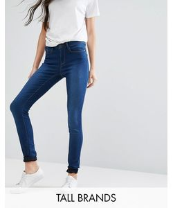 Vero Moda Tall | Джинсы Скинни С Завышенной Талией