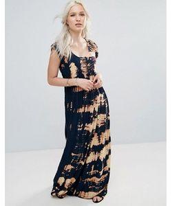 Raga | Платье Макси С Принтом Тай-Дай Desert Daze
