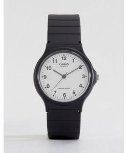 Casio | Часы С Аналоговым Циферблатом И Резиновым Ремешком Mq-24-7bll