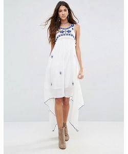 Raga | Платье С Каскадной Драпировкой Santorini