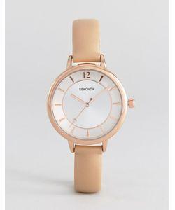 Sekonda | Часы С Розовым Ремешком Из Искусственной Кожи 2137