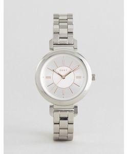 DKNY | Серебристые Металлические Часы Ellington