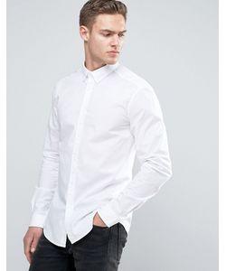 Esprit | Эластичная Рубашка Слим Из Хлопкового Поплина