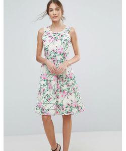 Uttam Boutique | Платье Миди С Цветочным Принтом Uttam Bouitque