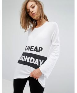 Cheap Monday | Футболка С Логотипом