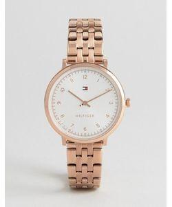 Tommy Hilfiger | Золотисто-Розовые Часы Pippa