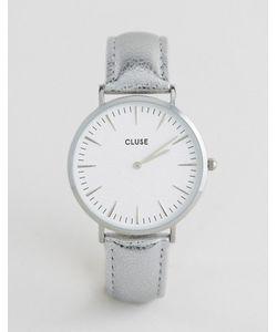 Cluse | Часы С Серебристым Корпусом И Кожаным Ремешком La Boheme Cl18233