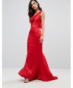 JARLO | Платье Макси Со Свободным Воротом Спереди Electra