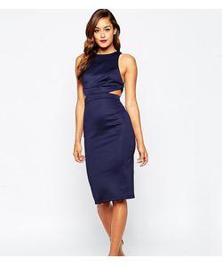 ASOS PETITE | Облегающее Платье С Вырезом И Лямками Сзади