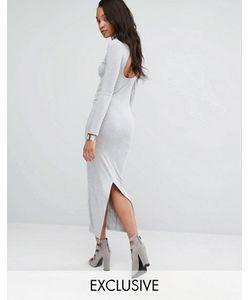 Puma   Облегающее Платье Макси Эксклюзивно Для