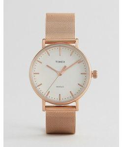 Timex | Часы С Сетчатым Ремешком Fairfield 37 Мм