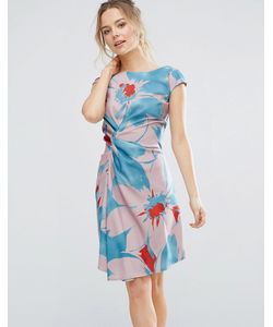 Closet London | Цельнокройное Платье С Ярким Цветочным Принтом