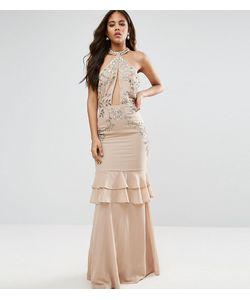 Maya Tall | Платье Макси С Оборками На Юбке