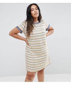 Elvi   Фактурное Цельнокройное Платье