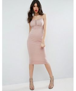 Asos | Платье Миди С Лямками