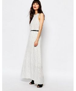 Just Female | Платье Макси С Принтом Birch