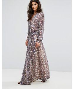 Ba&Sh | Платье Макси С Принтом