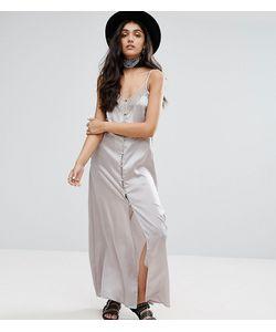 Glamorous Tall   Платье-Комбинация С Кружевными Вставками