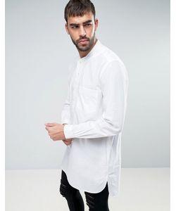 YMC   Длинная Рубашка Навыпуск