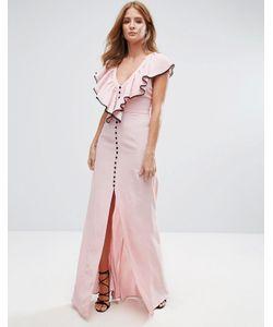 Millie Mackintosh | Ruffle Strap Maxi Dress