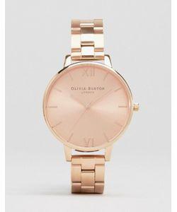 Olivia Burton | Наручные Часы С Большим Циферблатом Цвета Розового Золота