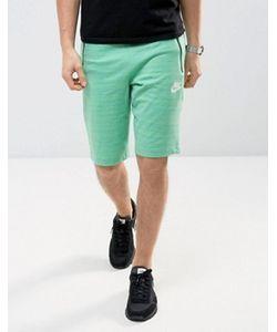 Nike | Зеленые Трикотажные Шорты 837014-351