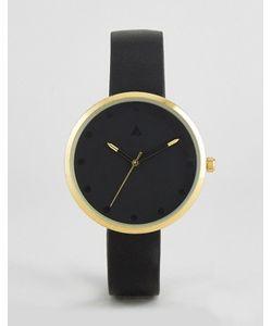 ASOS CURVE | Черные Часы С Золотистой Отделкой