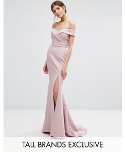 Jarlo Tall | Платье Макси С Разрезом