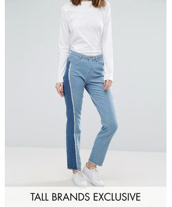 Daisy Street Tall   Skinny Jean With Patchwork Side Stripe
