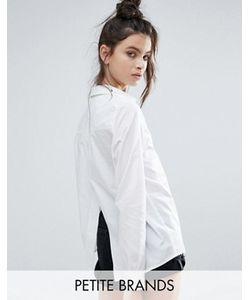 Noisy May Petite | Рубашка С Разрезом На Спине