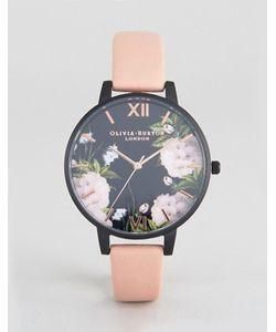 Olivia Burton | Часы Цвета Розового Золота С Пыльно-Розовым Ремешком After Dark