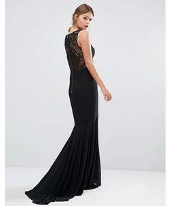 JARLO | Платье С Кружевной Спинкой И Юбкой-Годе
