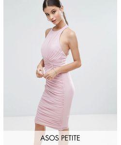 ASOS PETITE | Сетчатое Платье Со Сборками