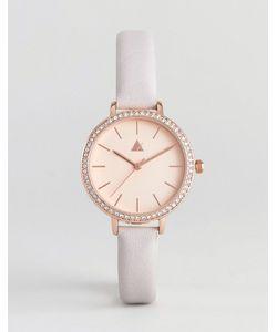 Asos | Часы Цвета Розового Золота С Кожаным Ремешком Premium