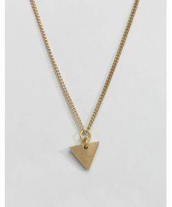 Made | Ожерелье С Треугольником