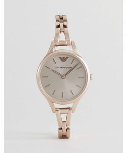 Emporio Armani | Часы С Золотисто-Розовым Корпусом Ar11055