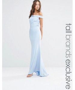 Jarlo Tall | Платье Макси С Открытыми Плечами