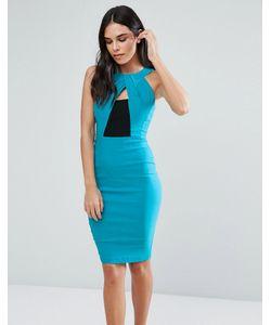 Vesper | Платье-Футляр С Запахом Спереди