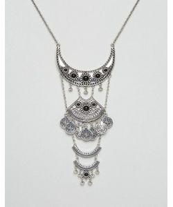DesignB London   Броское Ожерелье С Подвесками