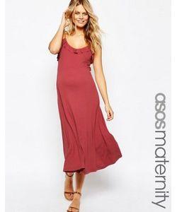 ASOS Maternity | Платье Миди С Рюшами Для Беременных