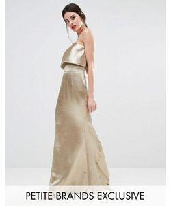 Jarlo Petite | Платье Макси С Накладкой Blaze