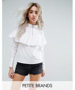 Noisy May Petite | Рубашка С Молниями И Рюшами