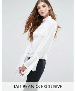 Missguided Tall | Блузка С Расклешенными Манжетами И Завязками