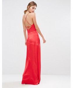 JARLO | Платье Со Свободным Воротом И Лямками На Спинке