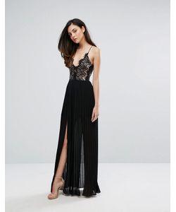 Rare | Платье Макси С Глубоким Декольте И Двумя Разрезами London