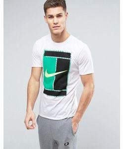 Nike | Футболка С Большим Логотипом-Галочкой Club 868770-101