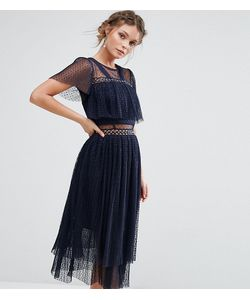 True Decadence | Платье Миди С Люверсами